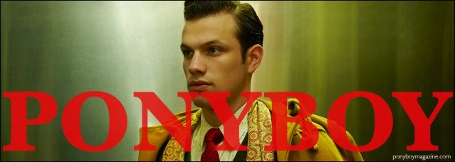 Ben Heymann, drummer for New York City rockabilly band The Bothers, photographed in Dated Vintage clothing by Alexander Thompson for Ponyboy magazine.