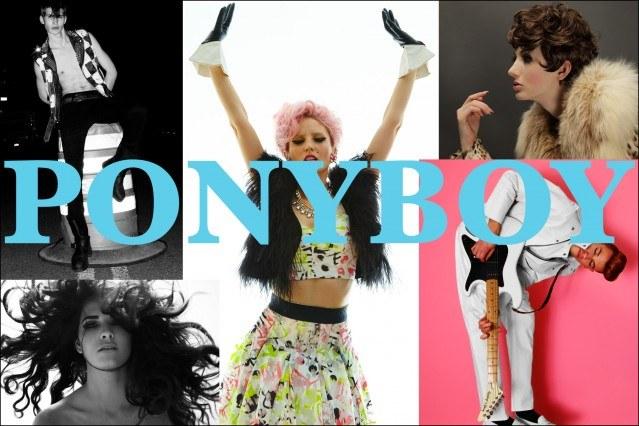 Ponyboy magazine About collage.