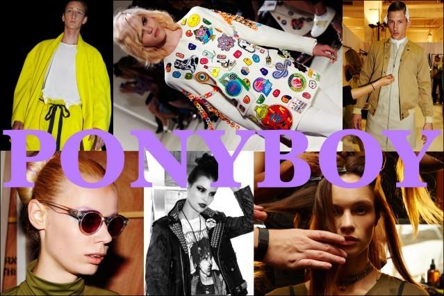 Ponyboy magazine About collage #5