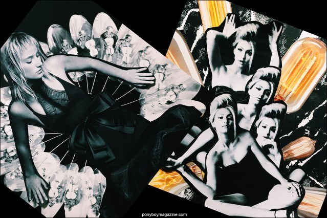 Collage artwork of Vera Wang and Gigi Hadid images by Patrick Keohane for RS Theory. Ponyboy magazine.