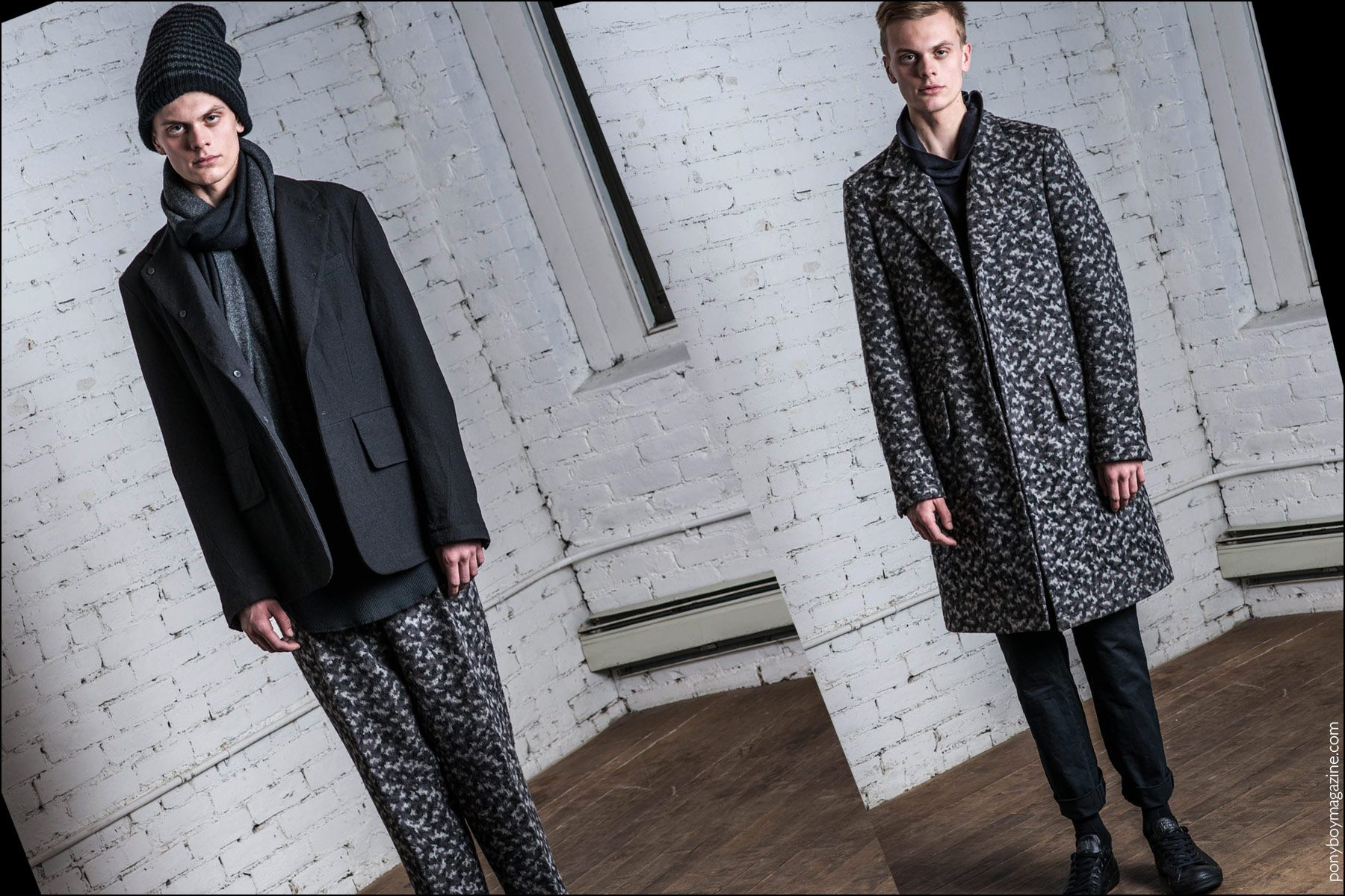 Fingers Crossed Fall 2016 menswear lookbook