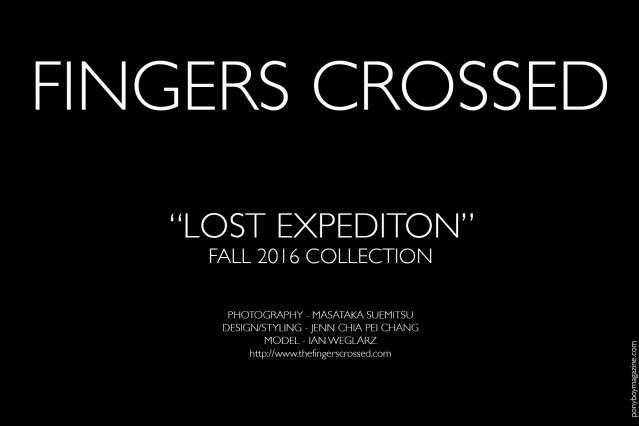 Fingers Crossed Fall 2016 lookbook credits. Ponyboy magazine.
