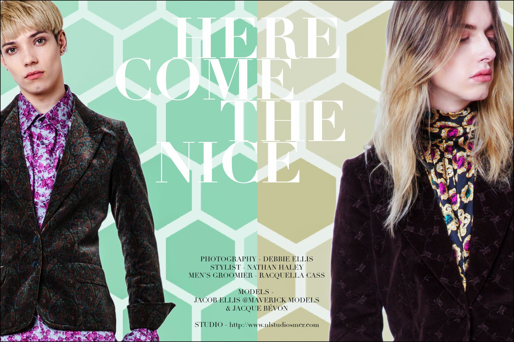 """Here Come the Nice"" menswear editorial, photographed by Debbie Ellis. Ponyboy magazine."