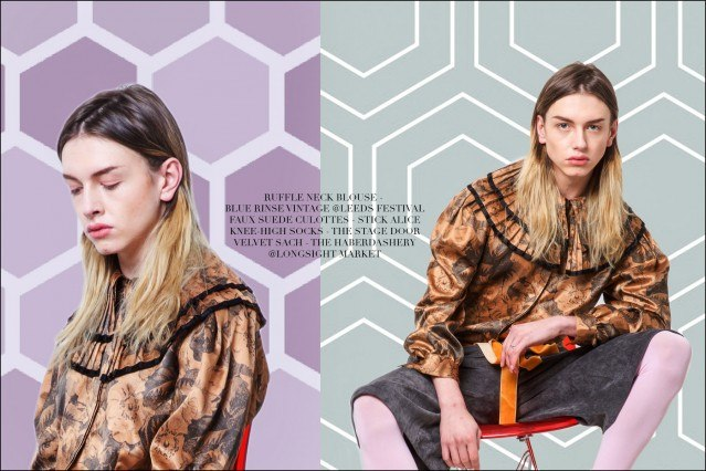 """Model Jacque Bévon stars in """"Here Come the Nice"""", photographed by Debbie Ellis for Ponyboy magazine."""