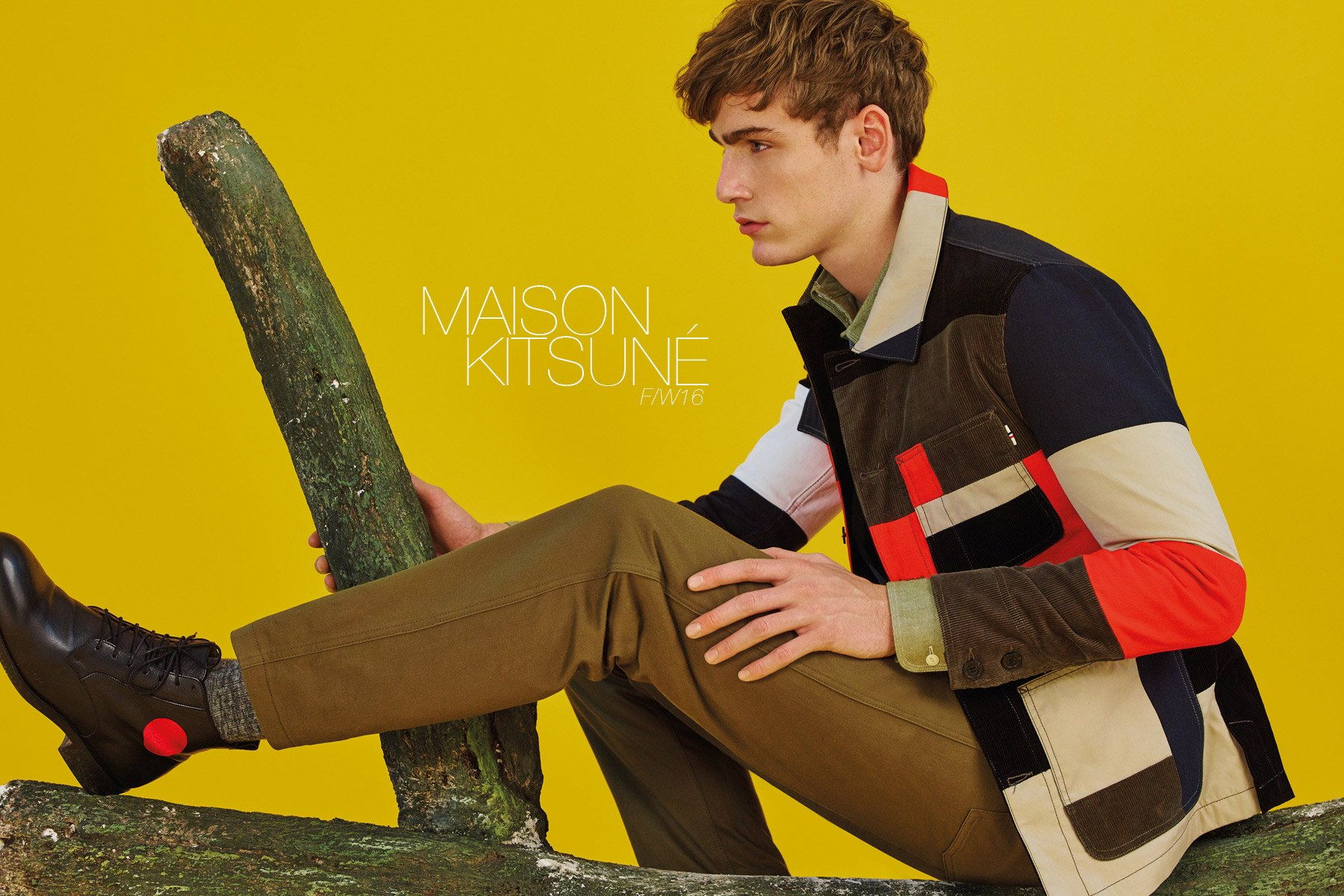 The latest Maison Kitsuné menswear lookbook, for Fall/Winter 2016, by photographer Pierpaolo Ferrari. Ponyboy magazine.