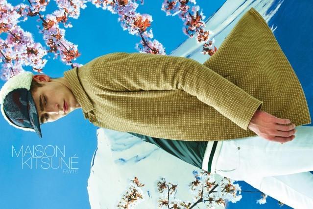 The latest Maison Kitsuné menswear lookbook, for F/W16, by photographer Pierpaolo Ferrari. Ponyboy magazine.