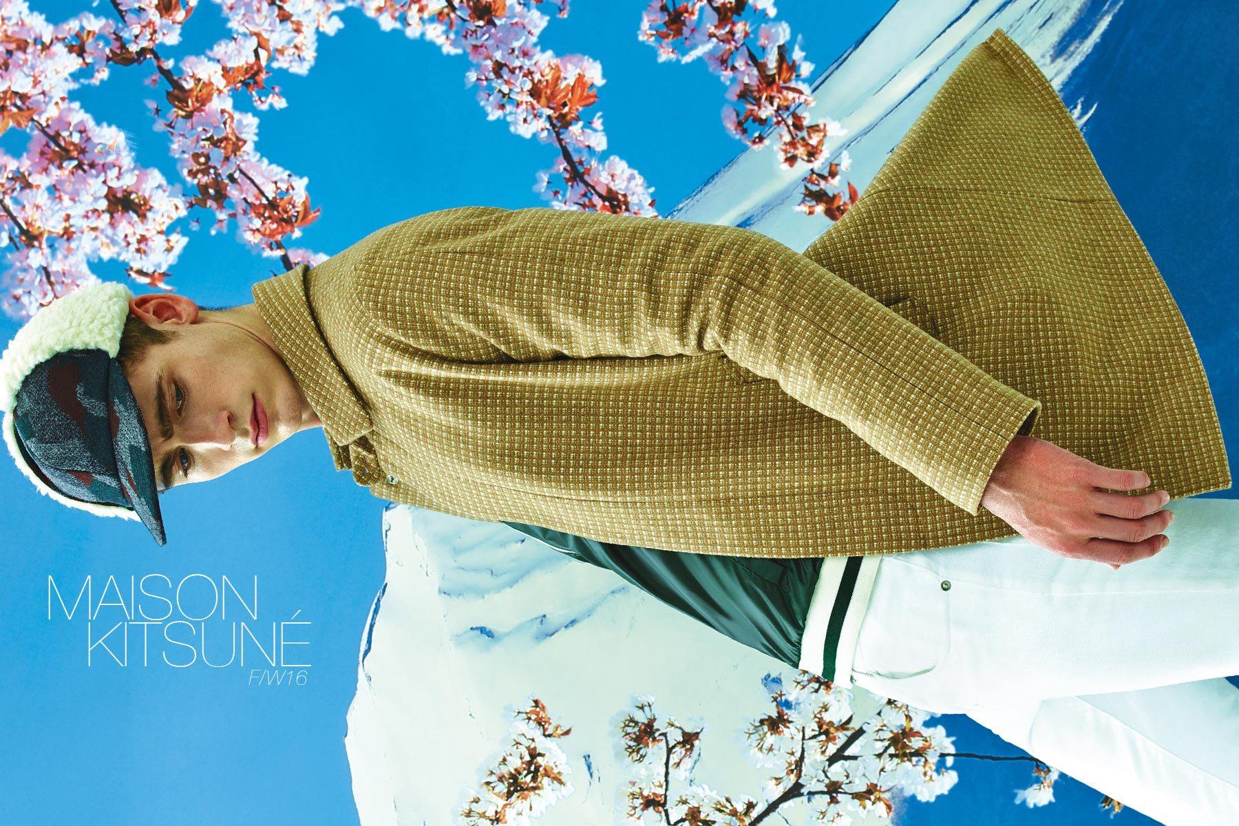 The latest Maison Kitsuné menswear lookbook, for F/W16, by photographer Pierpaolo Ferrari. Pony boy magazine NY.
