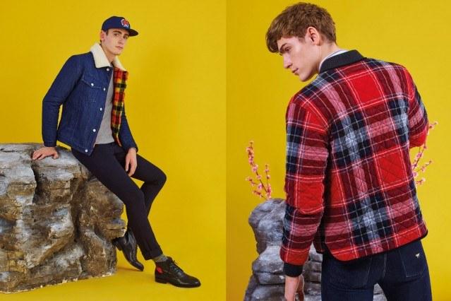 The latest Maison Kitsuné menswear lookbook, for Fall/Winter 2016. Photographed by Pierpaolo Ferrari. Ponyboy magazine.