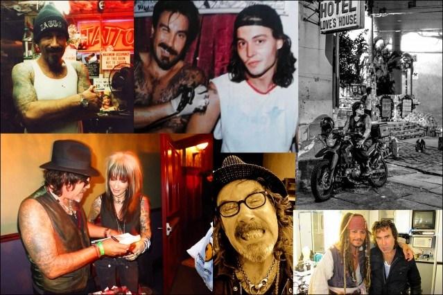 Personal photographs of tattoo artist Jonathan Shaw. Ponyboy magazine.