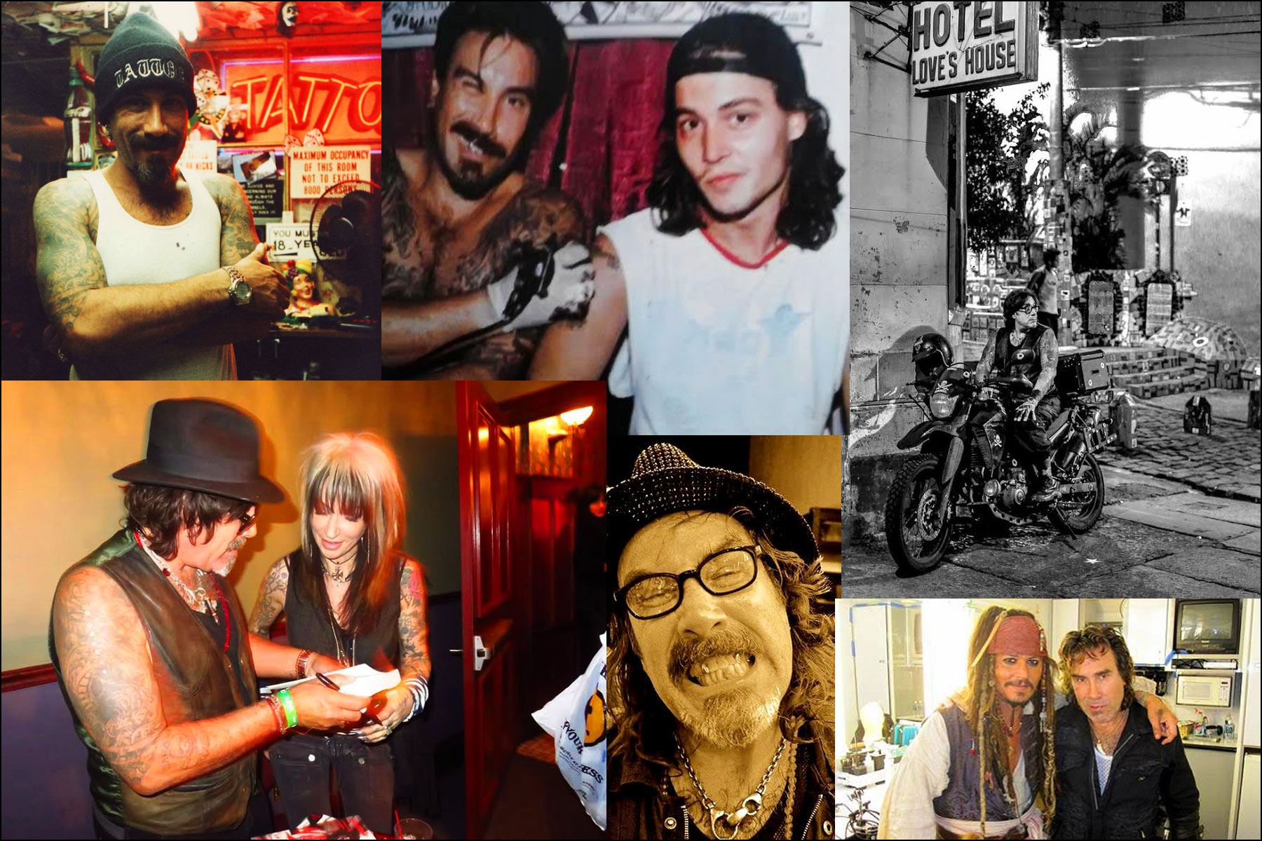 Personal photographs of tattoo artist Jonathan Shaw. Ponyboy magazine NY.