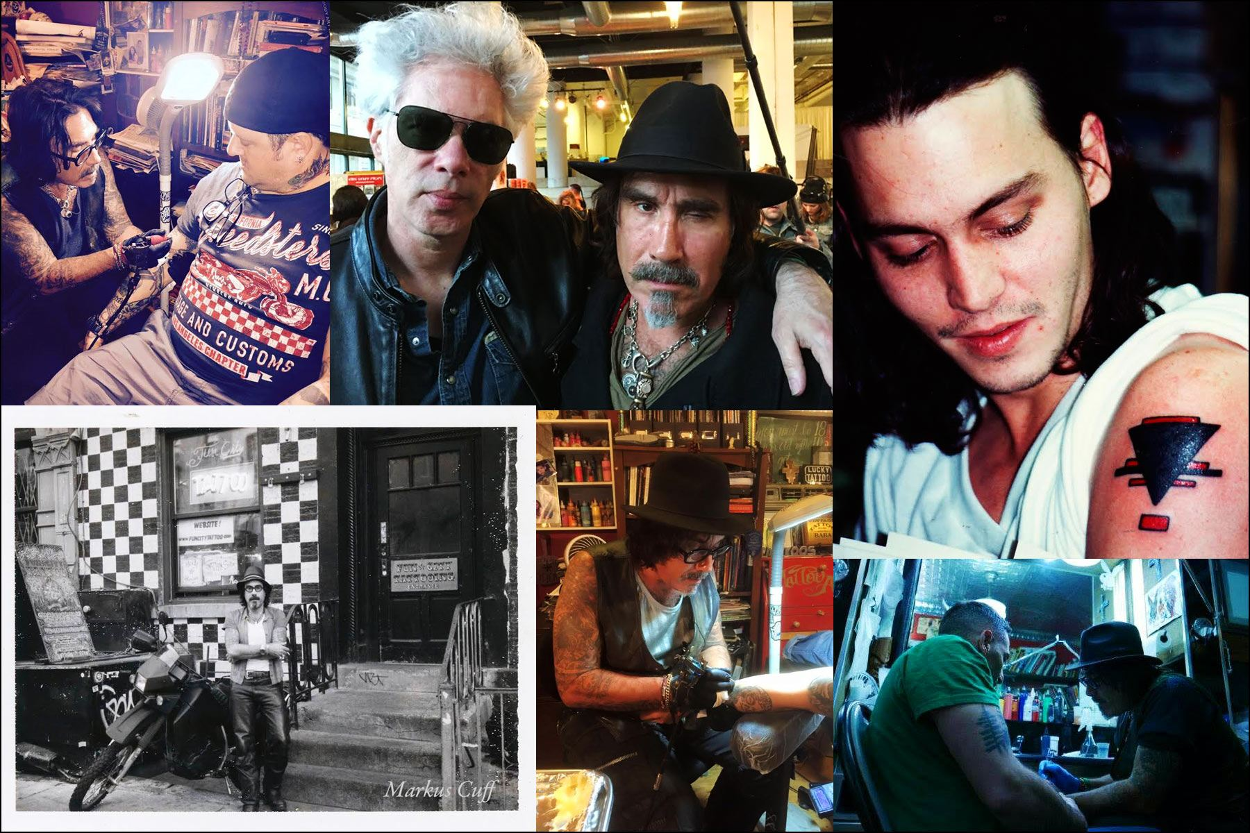Personal photos of tattoo artist Jonathan Shaw. Ponyboy magazine NY.