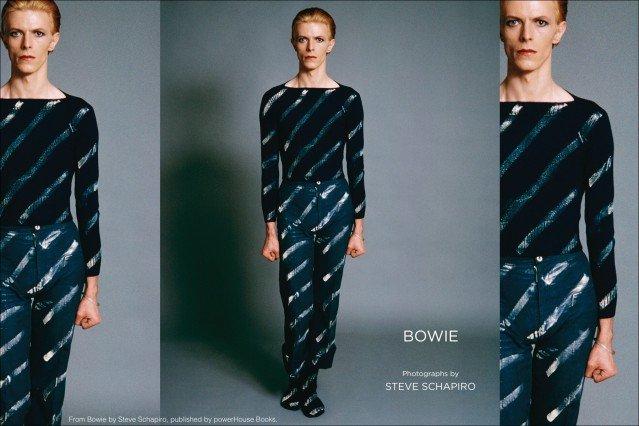 Bowie, photographs by Steve Schapiro, powerHouse Books. Ponyboy magazine.