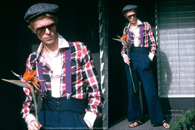 David Bowie photographed in Los Angeles in 1974. From the book Bowie by Steve Schapiro, published by powerHouse Books. Ponyboy magazine.