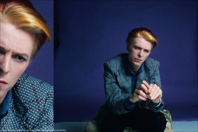 Musician David Bowie, from the book Bowie by Steve Schapiro, published by powerHouse Books. Ponyboy magazine.