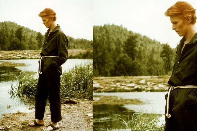 David Bowie, by photographer Steve Schapiro, from the book Bowie, published by powerHouse Books. Ponyboy magazine.