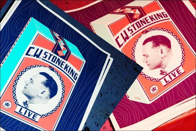 C.W. Stoneking posters, photographed by Alexander Thompson for Ponyboy magazine.
