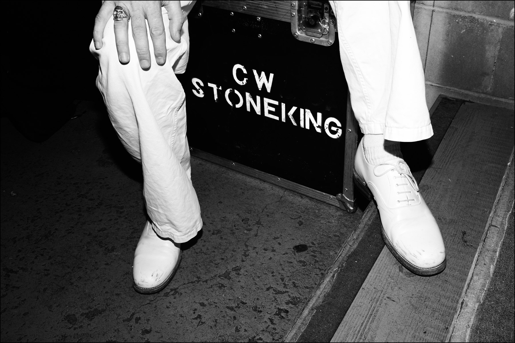 Musician C.W. Stoneking photographed for Ponyboy magazine in New York City by Alexander Thompson.