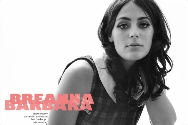 Musician Breanna Barbara photographed by Alexander Thompson for Ponyboy magazine.
