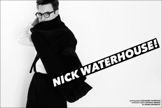 Nick Waterhouse for Ponyboy magazine. Photographed in New York City by Alexander Thompson.