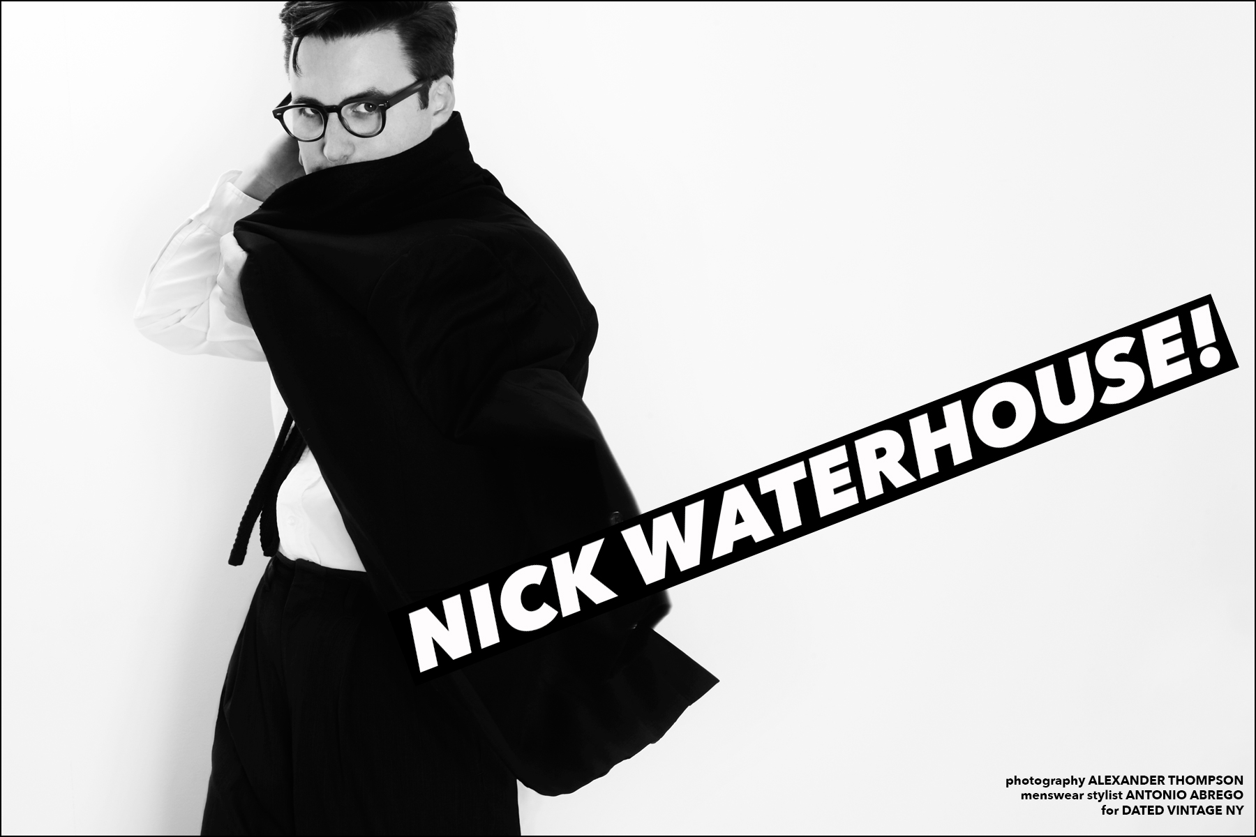 Nick Waterhouse for Ponyboy magazine NY. Photographed in New York by Alexander Thompson.