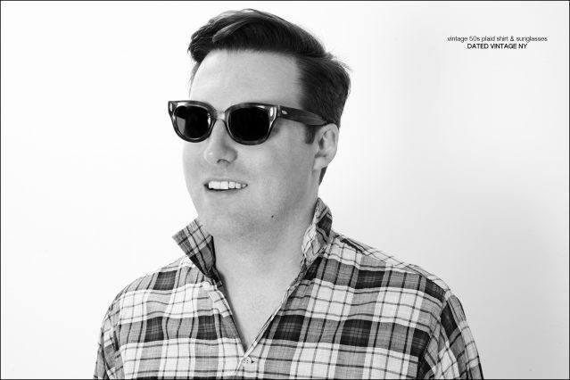 California musician Nick Watherhouse photographed in New York City by Alexander Thompson for Ponyboy magazine.