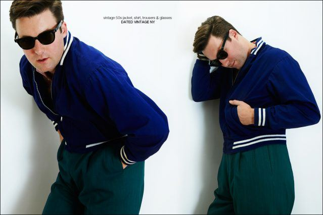 Nick Waterhouse photographed for Ponyboy magazine by Alexander Thompson, with styling by Antonio Abrego.