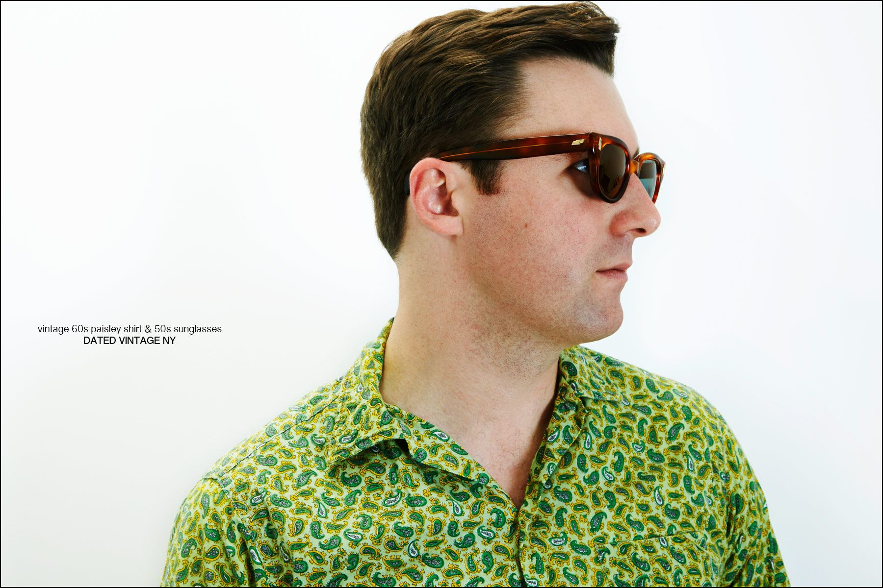 Nick Waterhouse photographed in clothing from Dated Vintage NY. Photography by Alexander Thompson for Ponyboy magazine New York.