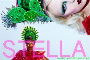 Stella, by Stella Rose Saint Clair. Photographed by Alexander Thompson for Ponyboy magazine.