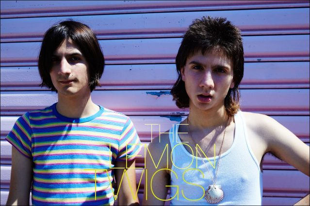 The Lemon Twigs photographed by Alexander Thompson, for Ponyboy magazine in New York City.