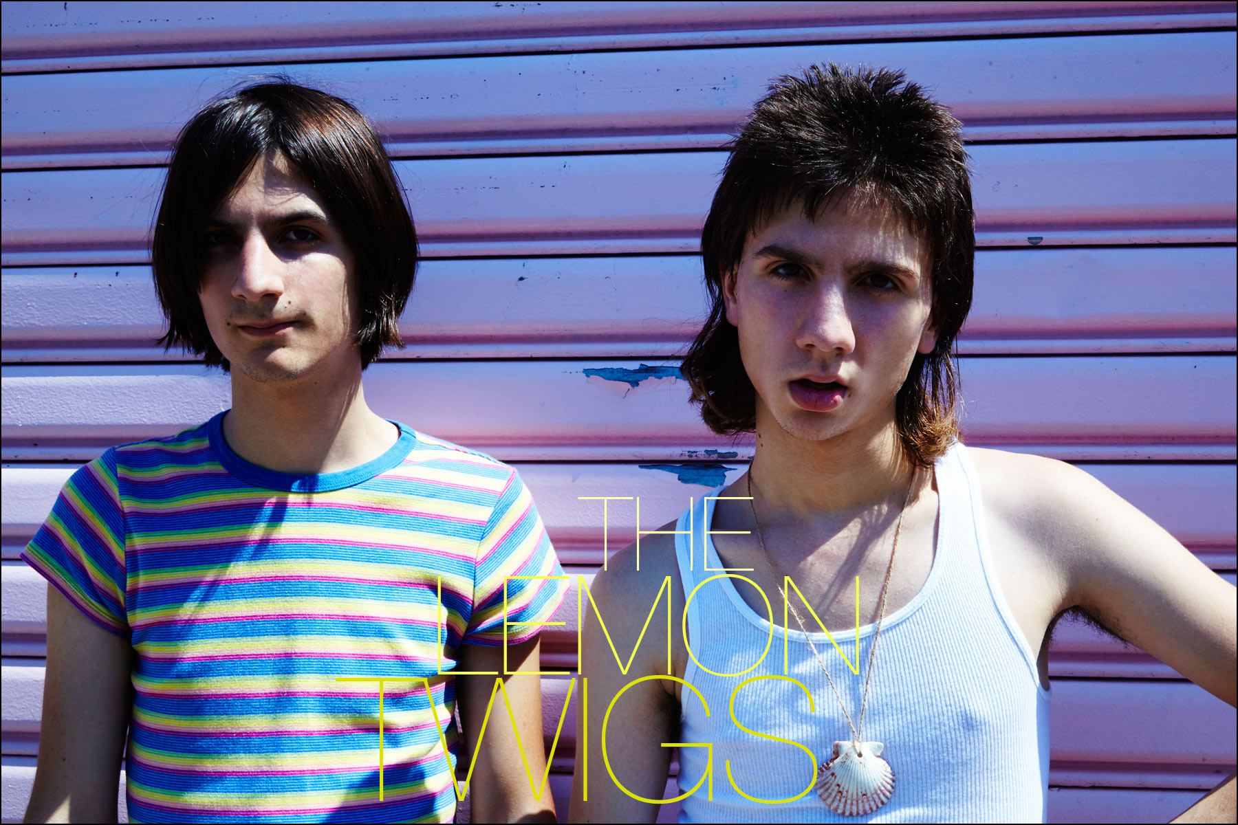 The Lemon Twigs photographed by Alexander Thompson, for Ponyboy magazine in New York.