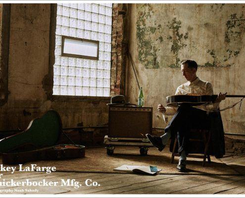 Musician Pokey LaFarge photographed by Noah Sahady for his clothing collaboration with Knickerbocker Mfg. Co. Ponyboy magazine New York.