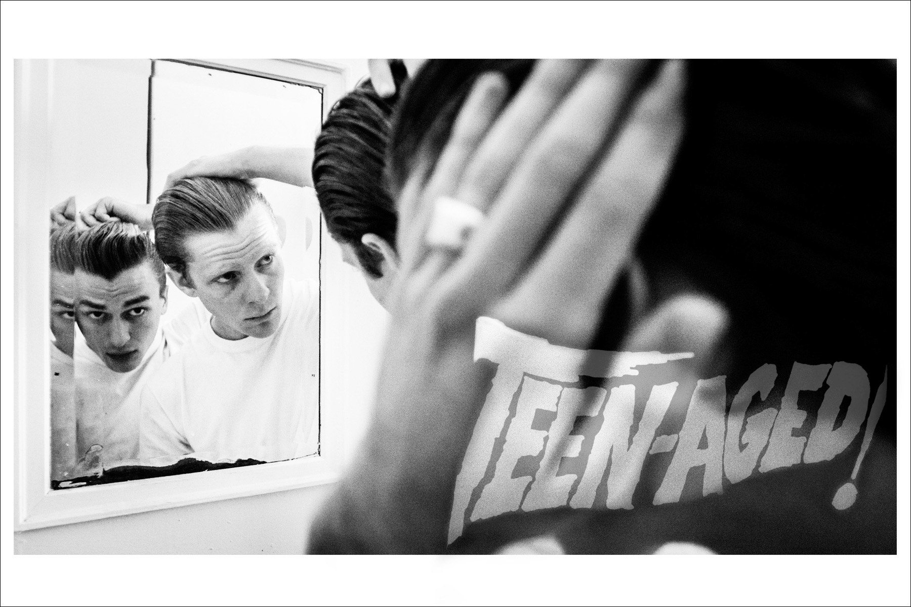 The Teen-Aged. Photography by Connor Wyse. Ponyboy magazine New York.