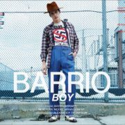 Barrio Boy, starring model Mateo Birkner from New York Model Management. Photographed by Alexander Thompson, with menswear styling by Antonio Abrego. Ponyboy magazine.