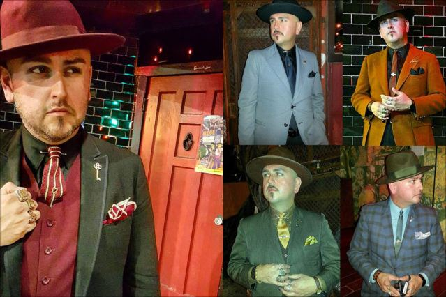 Images of Barrio Dandy, menswear stylist and showroom owner J.C. De Luna. Ponyboy magazine.