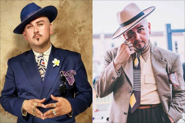 Barrio Dandy, menswear stylist and showroom owner J.C. De Luna. Ponyboy magazine.