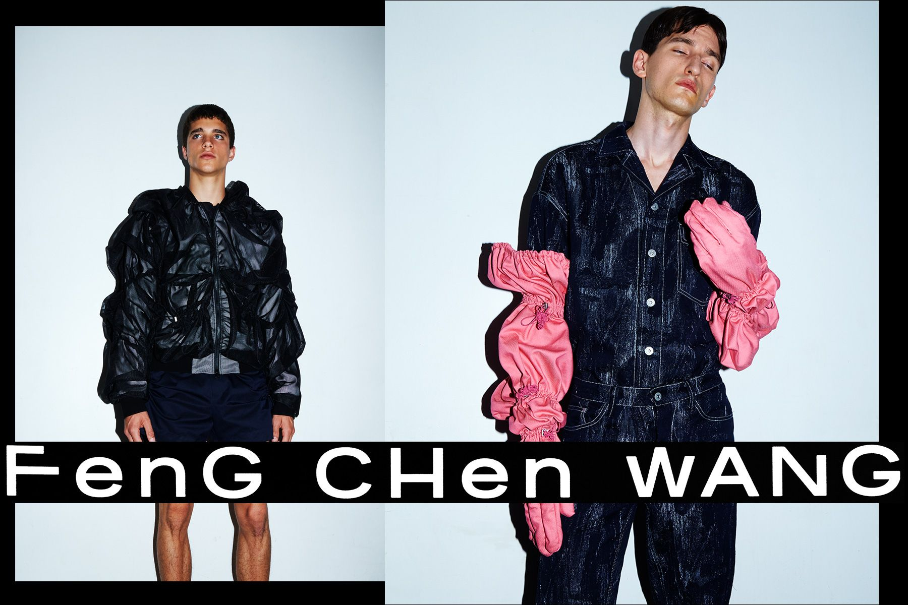 Feng Chen Wang. S/S18. Photography by Alexander Thompson for Ponyboy magazine.
