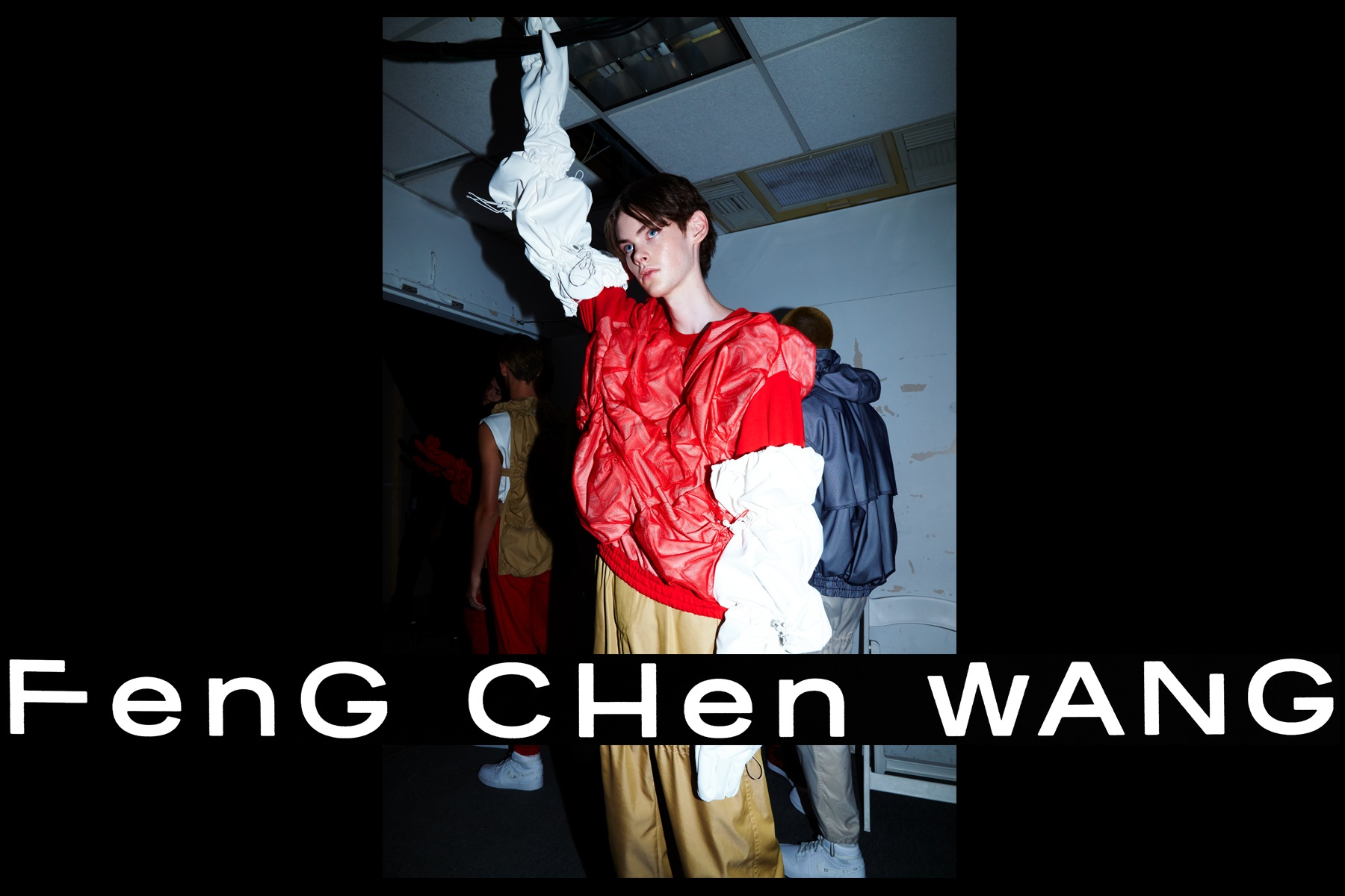 Feng Chen Wang menswear. S/S18. Photography by Alexander Thompson for Ponyboy magazine New York.