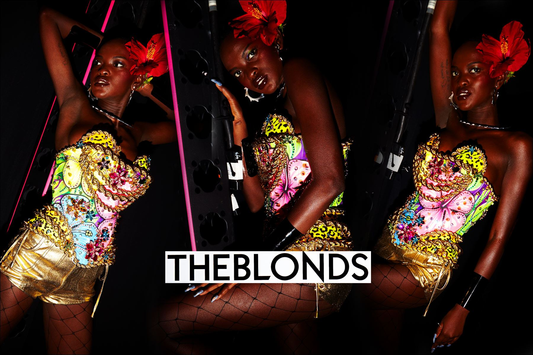 The Blonds. Spring/Summer 2018. Photography by Alexander Thompson. Ponyboy magazine New York.