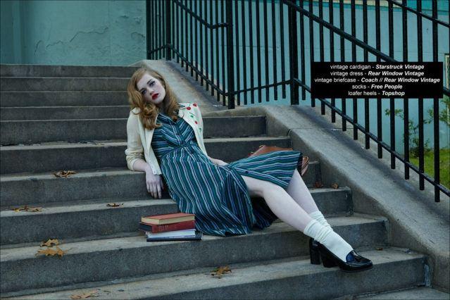 Model Briggs Rudder, from Wilhelmina Models, featured on Ponyboy magazine, photographed by Alexander Thompson.