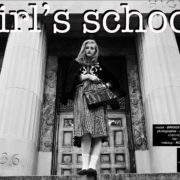 """Girls School""with Briggs Rudder, from Wilhelmina Models NY. Photographed by Alexander Thompson, with styling by Xina Giatas. Ponyboy magazine."