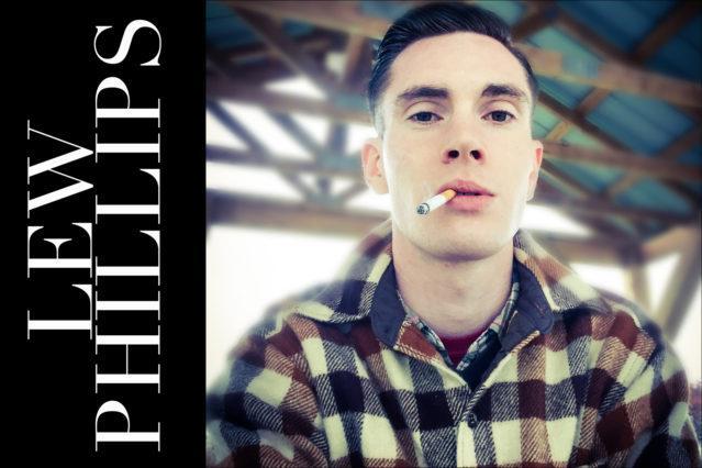 Musician Lew Phillips. Ponyboy magazine.