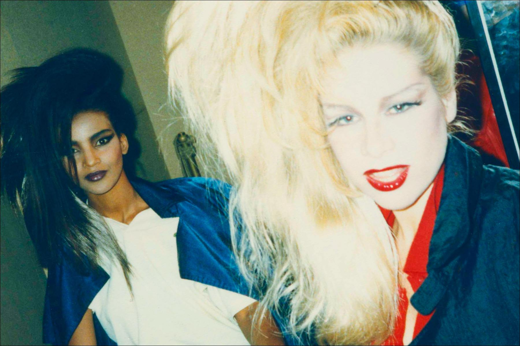 Dianne Brill photographed backstage at Thierry Mugler. Ponyboy magazine NY.