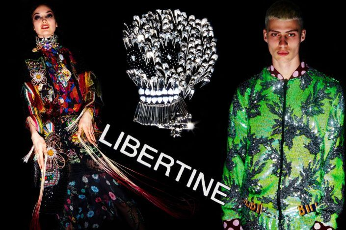 Libertine for Fall 2018. Photography by Alexander Thompson.