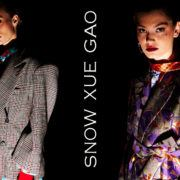 Snow Xue Gao Fall/Winter 2018. Photographed by Alexander Thompson for Ponyboy magazine.