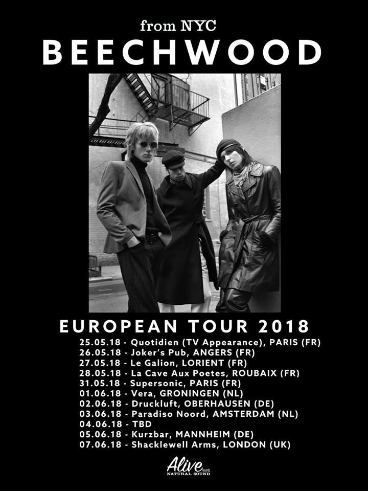 Beechwood European Tour 2018. Ponyboy magazine.