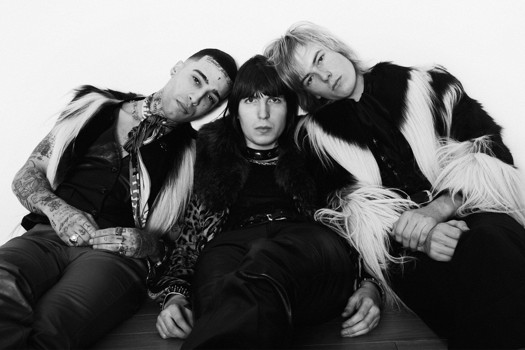 New York City band Beechwood, photographed by Alexander Thompson, with men's styling by Amber Doyle. Ponyboy magazine.