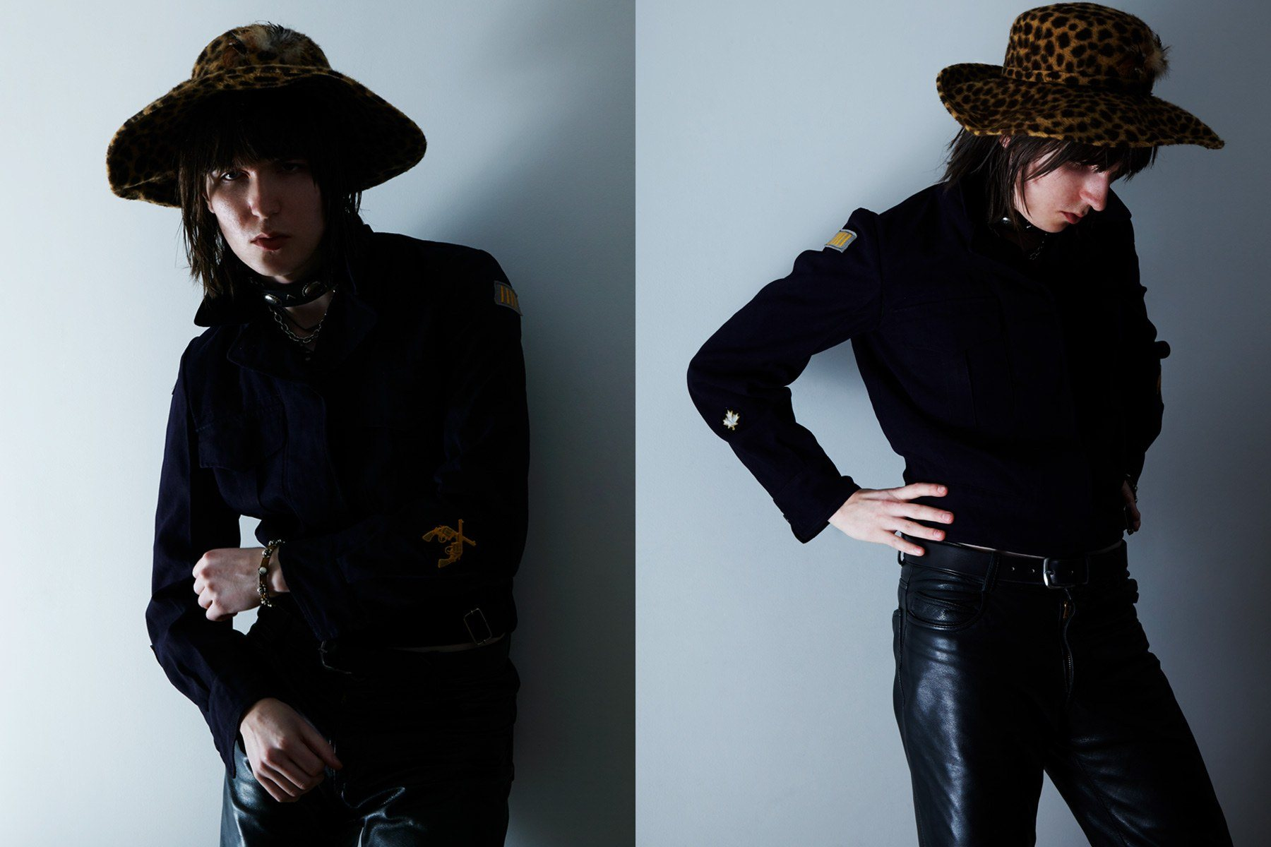 Gordon Lawrence, Beechwood musician, styled by Amber Doyle, with photography by Alexander Thompson for Ponyboy magazine.