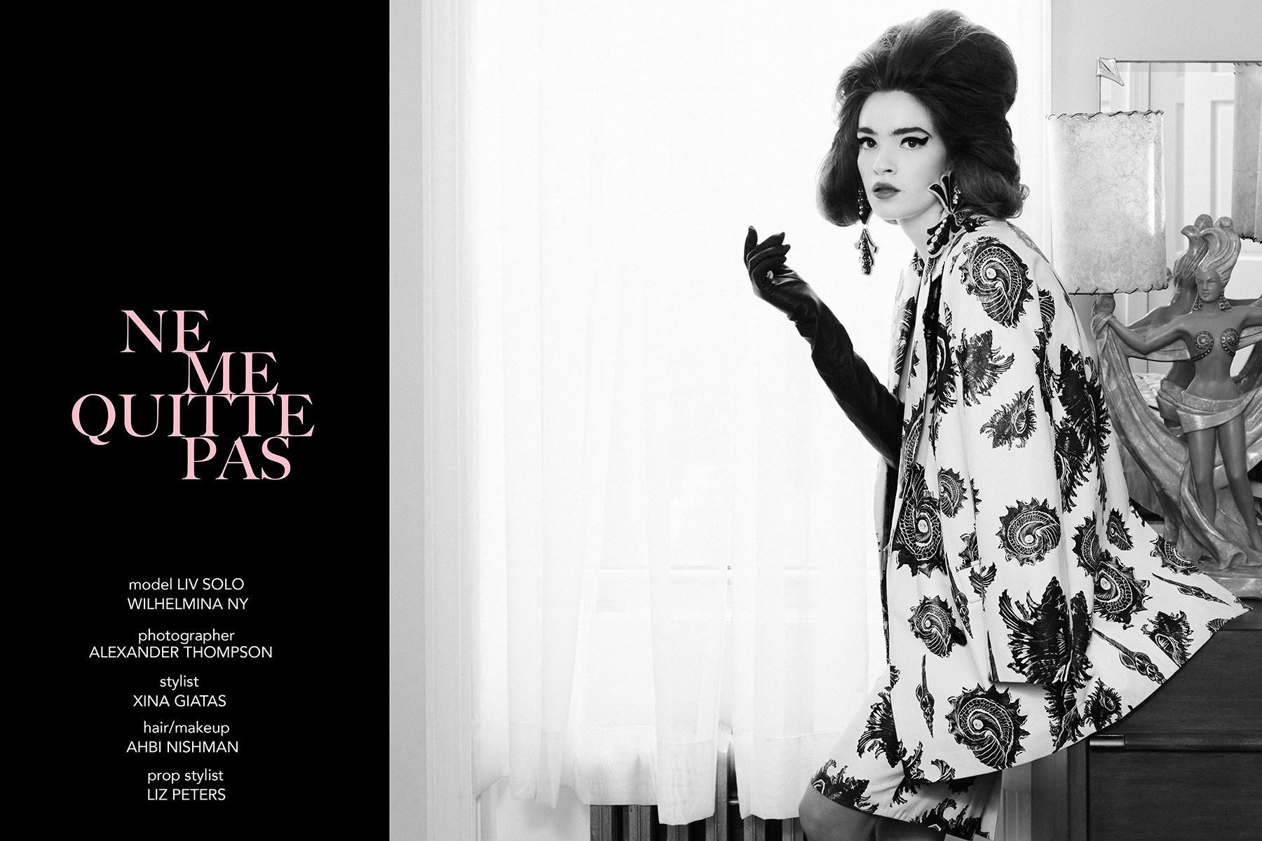 Wilhemina model Liv Solo stars in