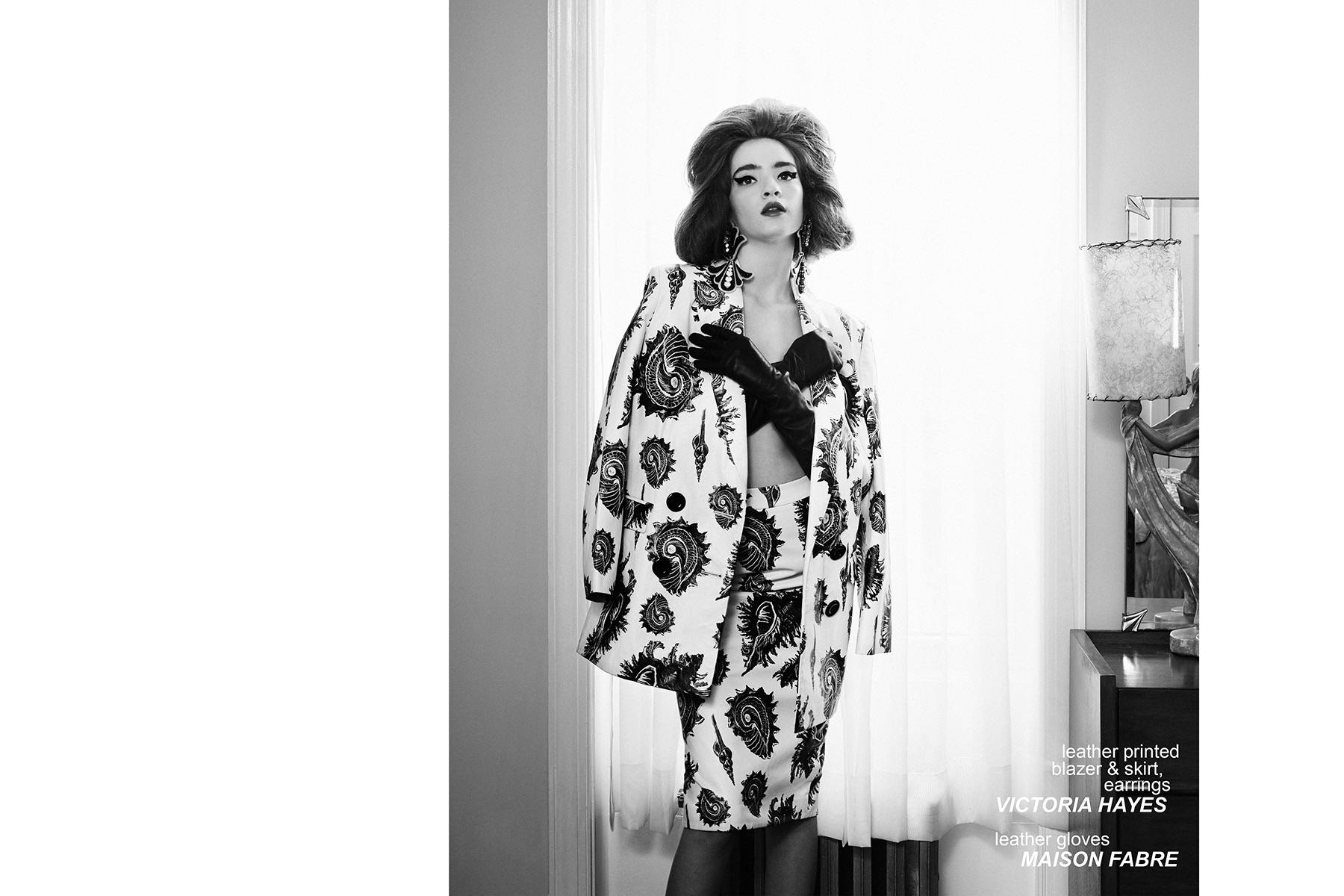 Model Liv Solo, from Wilhelmina New York, stars in