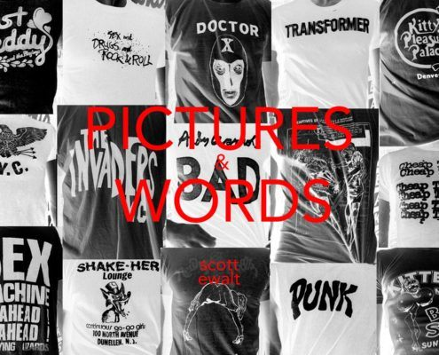 Pictures & Words. Scott Ewalt. STH Editions.